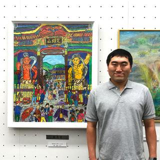 ドガの会の宮林謙次くん世界絵画大賞展2020で優秀賞受賞